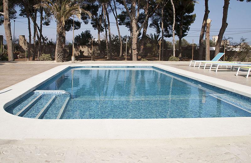 piscina privada en Finca La Viña