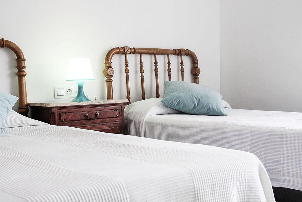 Habitacion dos camas individuales Finca La Viña